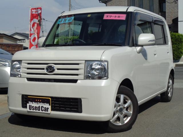 ダイハツ X 4WD 電動シート スマ-トキ- CD/MD ABS 社外アルミ