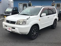 エクストレイルX ナビ 4WD 16インチAW CD 5人乗り SUV