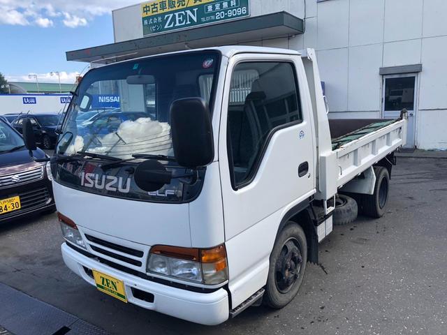 いすゞ エルフトラック ダンプ 2t車