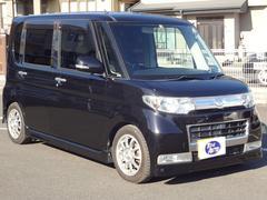 タントカスタムX 4WD ナビ 地TV Bカメラ ローダウン