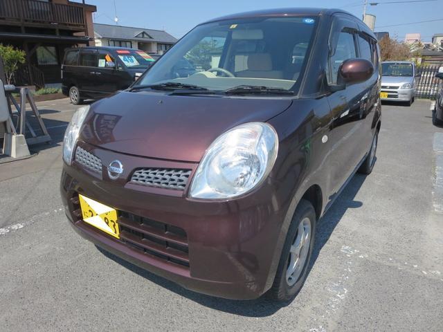 日産 モコ S FOUR ベンチシート CD キーレス シートヒーター