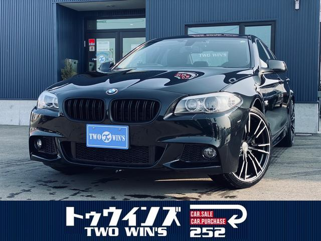 BMW 528i HDDナビフルセグ バックカメラ M5ルック フロントバンパー サイドステップ リアバンパー 新品20インチアルミ レザーシート HIDヘッドランプ ドライブレコーダー