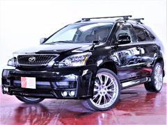 AIZEN Automotive株式会社  ハリアー 4WDプレミアムL新品エアロ22インチメッキAW新品ライト