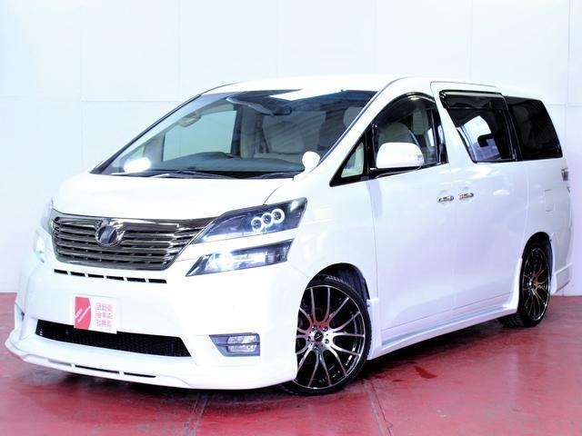 トヨタ 新品エアロ20インチホイール3連ヘッドライト加工両側パワスラ