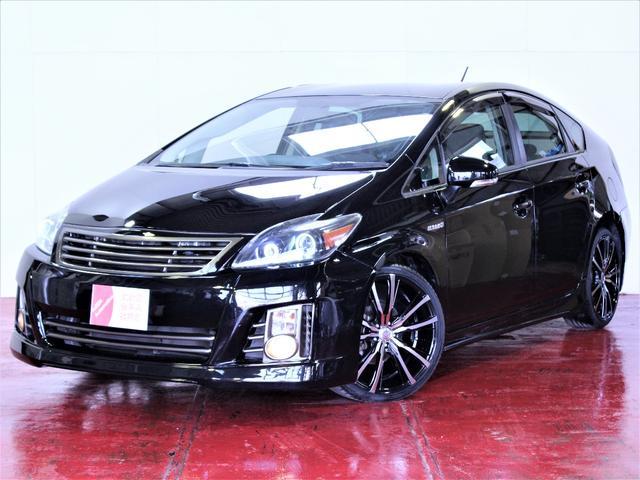トヨタ 新品フルエアロ 新品19インチホイール イカリングライト加工