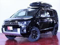 デリカD:5シャモニー4WD 新品ホイール 新品マッドタイヤ ライト加工
