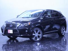 RX450h4WD 新品エアロ社外20インチAW新品黒革調シート
