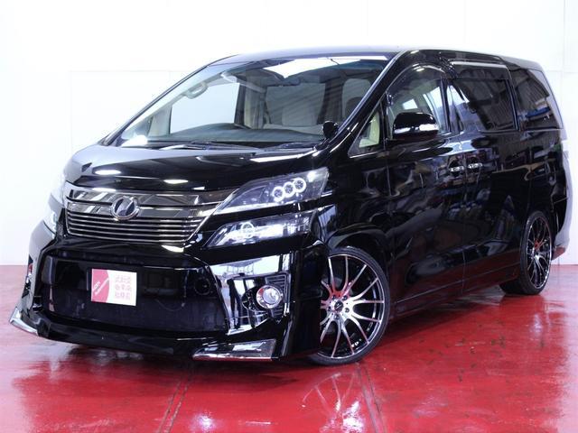 トヨタ 2.4新品エアロ20インチAW3連ヘッドライト加工パワスラ