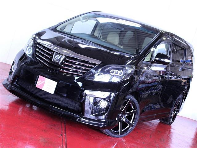 トヨタ 4WD 新品エアロ 新品20インチホイール ヘッドライト加工