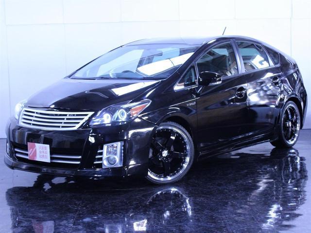 トヨタ S 新品フルエアロ 新品19インチAW イカリングライト加工