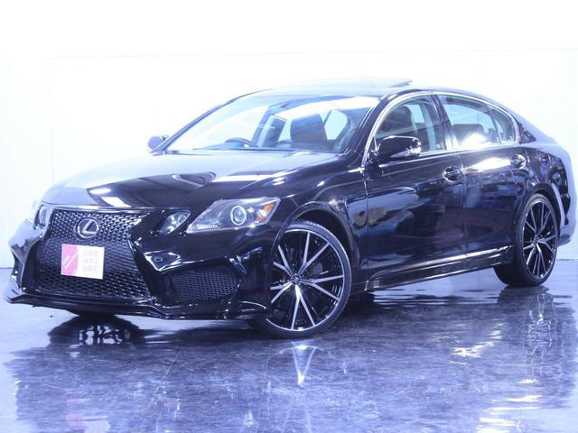 レクサス バージョンI4WD黒革サンルーフ新エアロ新20AWライト加工
