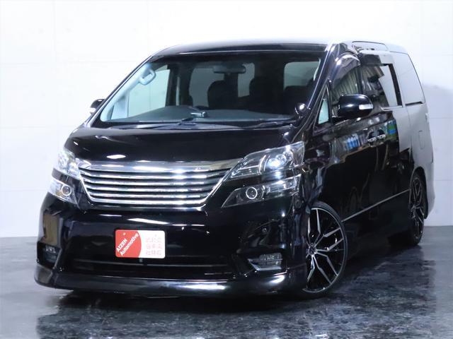 トヨタ 2.4Z エアロ 新品20インチAW 3連ヘッドライト加工