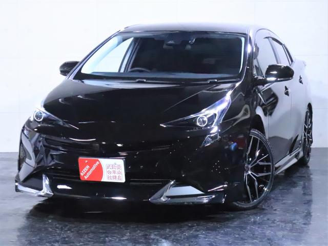 トヨタ プリウス 新品フルエアロ 新品19インチホイール イカリングライト加工