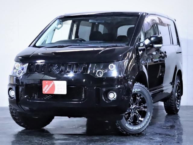 三菱 デリカD:5 Gナビパケ4WD ワンオーナー ライト加工 新AW 新タイヤ