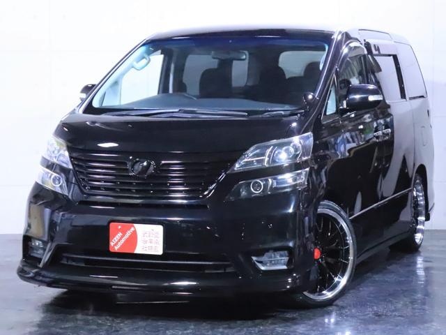 トヨタ ヴェルファイア 2.4Z 新品フルエアロ/新品20インチホイール/3連ヘッドライト加工