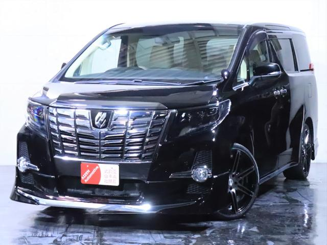 トヨタ 2.5X 新品エアロ 新品20インチホイール/新品タイヤ/ヘッドライト加工/本革調シートカバー/フリップダウンモニター