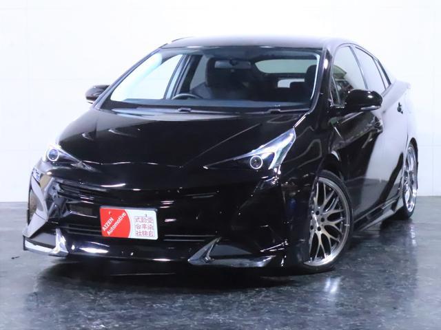 トヨタ S 新品フルエアロ/新品19インチホイール/イカリングライト加工
