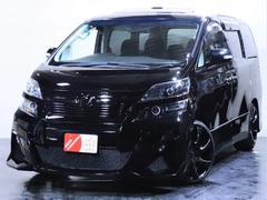ヴェルファイア2.4Z ツインサンルーフ/社外エアロ/新品20インチホイール/3連ヘッドライト加工