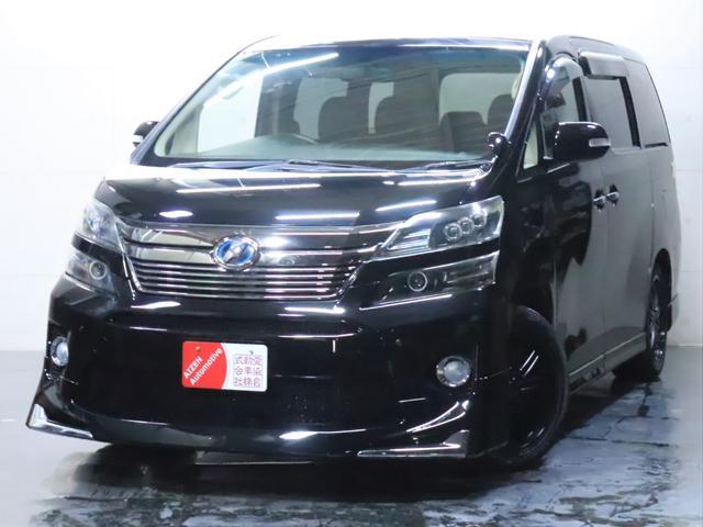 トヨタ ヴェルファイア 2.4X 後期仕様/新品フルエアロ/新品20インチホイール/3連ヘッドライト加工