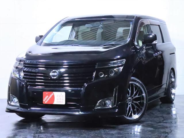 日産 エルグランド 250XG 4WD ワンオーナー/エアロ/新品20インチホイール/新品タイヤ/ヘッドライト加工