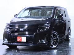 エルグランド250XG 4WD ワンオーナー/エアロ/新品20インチホイール/新品タイヤ/ヘッドライト加工