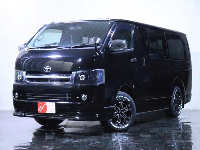 トヨタ ロングスーパーGL ディーゼル 4WD ワンオーナー/新品ホイール/新品ホワイトレタータイヤ/ヘッドライト加工/社外エアロ