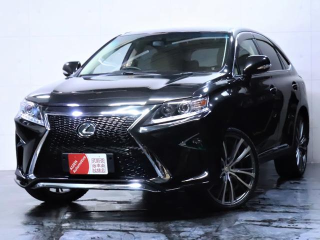 レクサス RX270 ワンオーナー/新品スピンドルエアロ/新品ヘッドライト/新品22インチホイール