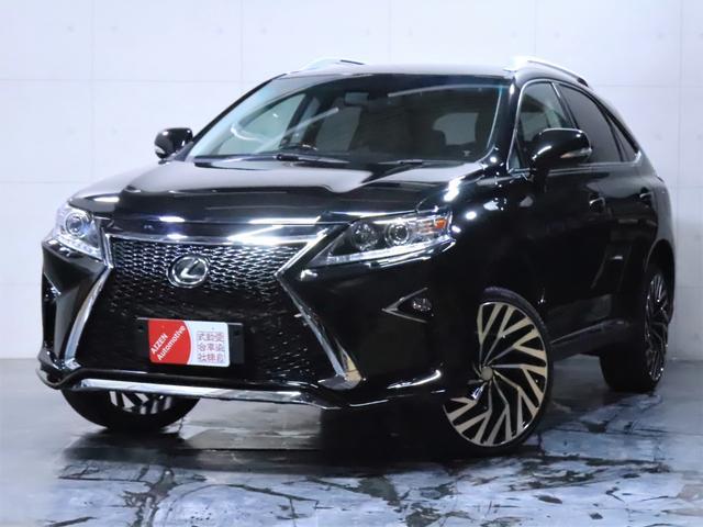 レクサス RX450h バージョンL 4WD/エアサス/黒本革シート/新品スピンドルエアロ/新品ヘッドライト/新品21インチホイール