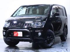 デリカD:5G ナビパッケージ 4WD/パワースライドドア/バンパーガード/ヘッドライト加工/新品ホイール/新品マッドタイヤ