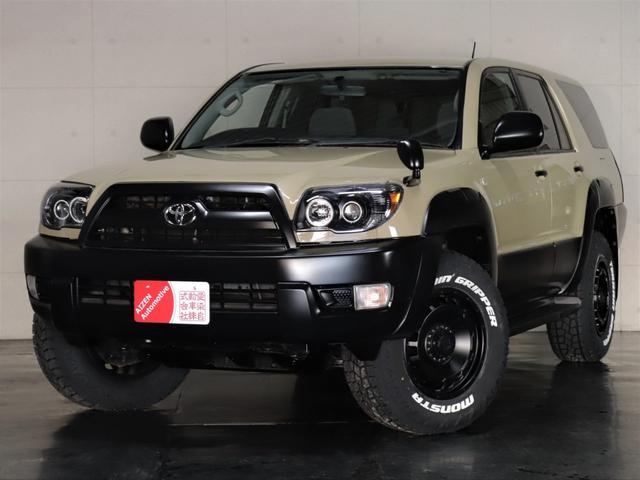 トヨタ ハイラックスサーフ SSR-X アメリカンバージョン 4WD/後期仕様/新品ヘッドライト/新品ホイール/新品ホワイトレタータイヤ/新品ダッシュボード
