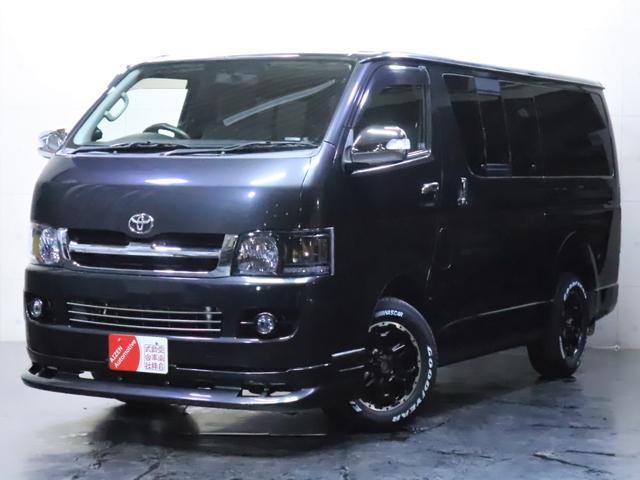 トヨタ ロングスーパーGL ディーゼル/4WD/ワンオーナー/新品ホイール/新品ホワイトレタータイヤ/社外ヘッドライト/社外エアロ