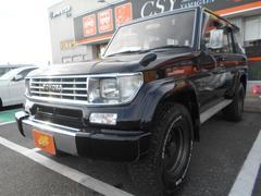 ランドクルーザープラドSXワイド イクリプスナビ フルセグTV ETC 4WD
