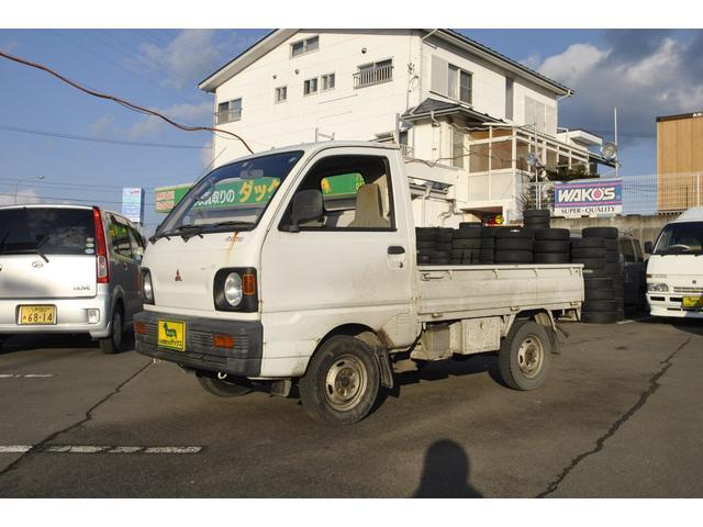 三菱 マイティ 4WD 4MT LSDノンスリップデフ装着車
