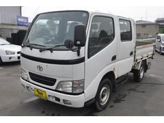 ダイナトラックWキャブ6人4WD 1t AC パワーウィンド リヤヒーター