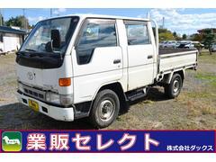 ハイエーストラックWキャブロングシングルジャストロー 3L 4WD 850kg