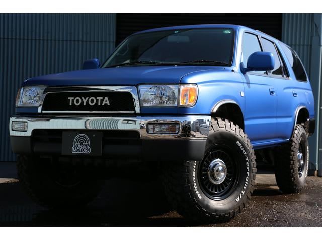 トヨタ SSR-X 特別仕様車 4WD