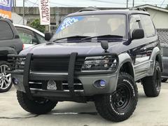 ランドクルーザープラドRZ サンルーフ 5速MT 4WD 新品タイヤ