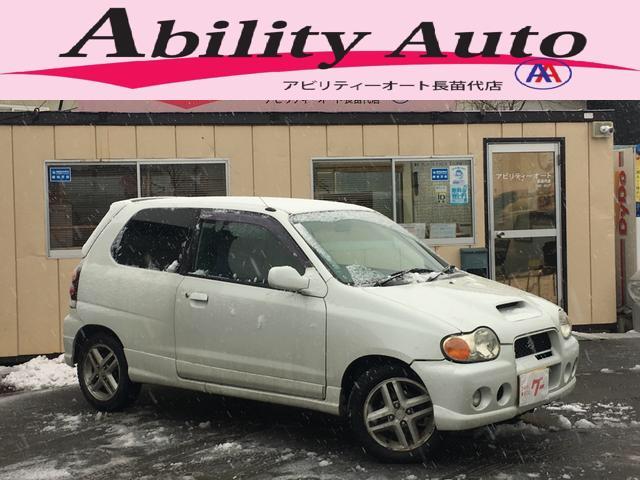 スズキ RS/Z 4WD ターボ マニュアル CD