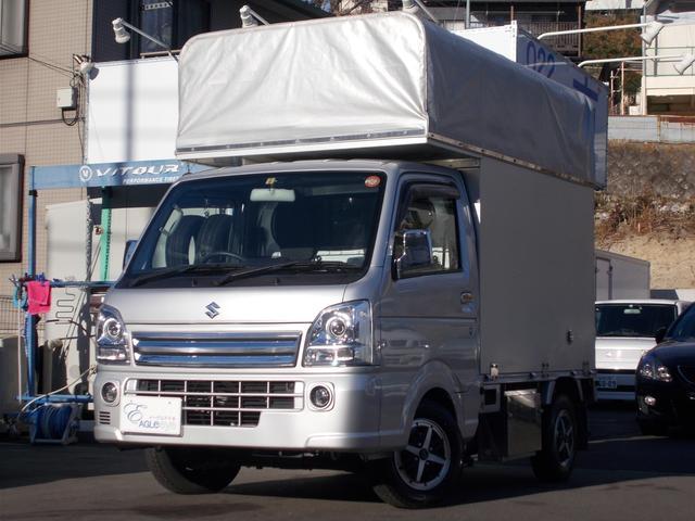スズキ KX 4WD 荷室庫 ナビ ETC マニュアル 夏タイヤ付き