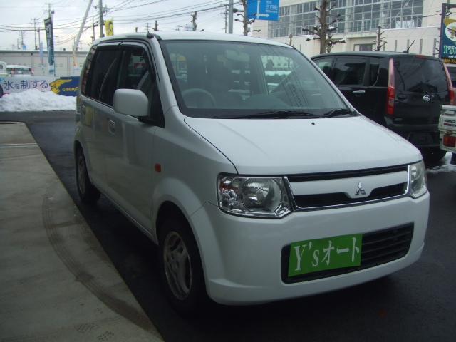 三菱 eKワゴン M 4WD AT キーレス (車検整備付)