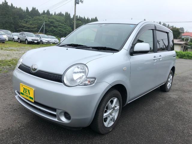 トヨタ シエンタ X 4WD  純正 ナビ ETC