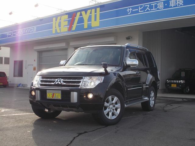 三菱 ロングエクシード 4WD HDDナビ 7人乗禁煙車Rフォード