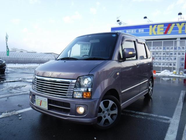 スズキ FT-Sリミテッド 4WD ターボ HDDナビ 禁煙車