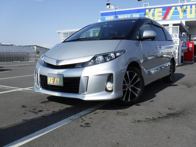 トヨタ アエラス プレミアムエディション 4WD 1オーナー ナビ