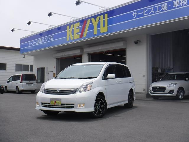 トヨタ プラタナ 4WD 左電動 禁煙車 1オーナー HID CD