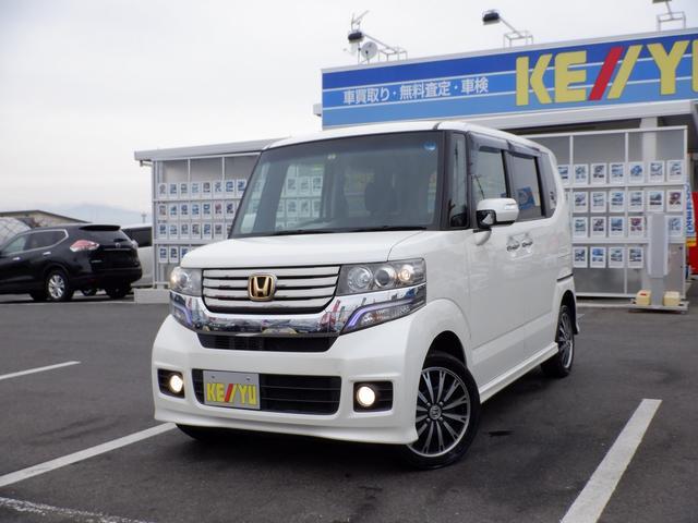 ホンダ G・ターボパッケージ 東京仕入 4WD 両側スライドドア 電動スライドドア 社外7インチSDナビ 12セグTV バックカメラ スマートキー Pスタート 電格ミラー クルーズコントロール 純正エアロ 保証書