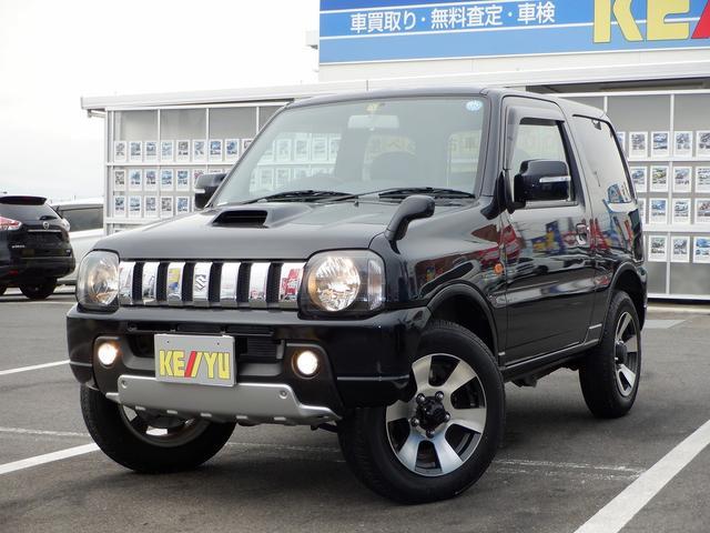 スズキ クロスアドベンチャーXC 東京仕入 4WD 社外7インチSDナビ 1セグTV キーレス ヘッドライトレベライザー 電格ミラー CD シートヒーター フォグ ETC 背面タイヤ