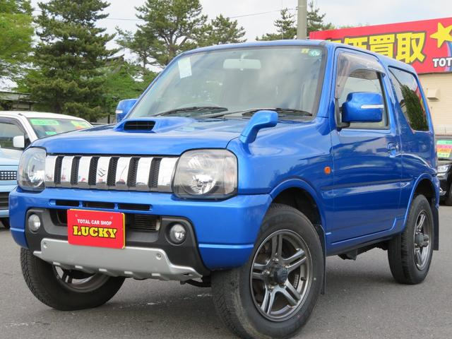スズキ クロスアドベンチャーXC 4WD DVDナビ 社外テール フォグランプ ウインカーミラー DVD CDオーディオ ナビ SDナビ キーレスエントリー パートタイム4WD ABS シ-トヒ-タ- AC