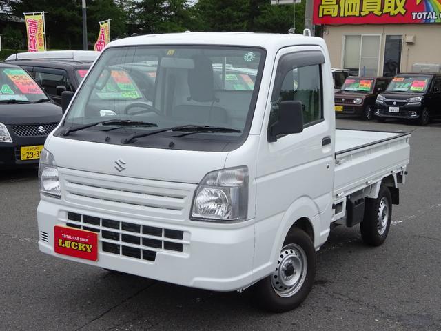 スズキ KCエアコン・パワステ 4WD マニュアルエアコン パワステ付 切替式4WD
