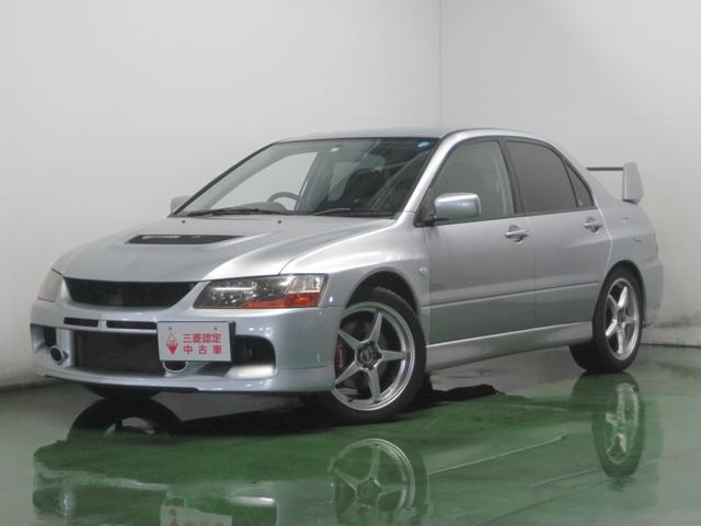 三菱 GTエボリューションIX 5MT CDデッキ 4WD